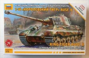 ZVEZDA 1/72 5023 KING TIGER Ausf.B HENSCHEL TURRET