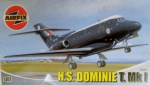 AIRFIX 1/72 03009 H.S. DOMINIE T.Mk I BLACK SCHEME