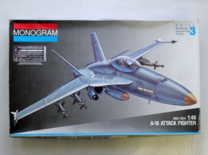 MONOGRAM 1/48 5833 A-18 ATTACK FIGHTER HI TECH