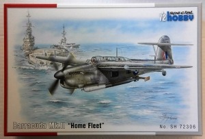 SPECIAL HOBBY 1/72 72306 FAIREY BARRACUDA Mk.II HOME FLEET