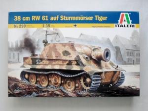 ITALERI 1/35 299 38 cm RW 61 AUF STURMORSER TIGER