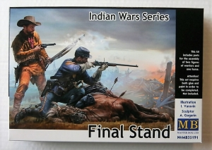 MASTERBOX 1/35 35191 INDIAN WARS SERIES FINAL STAND