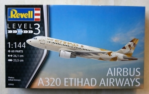REVELL 1/144 03968 AIRBUS A320 ETIHAD AIRWAYS