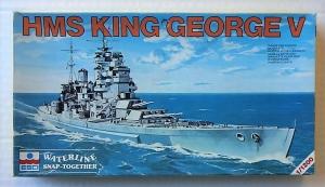 ESCI 1/1200 419 HMS KING GEORGE V