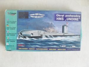 MIRAGE 1/400 40429 HMS UNDINE  WWII SUBMARINE