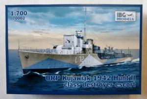 IBG MODELS 1/700 70002 ORP KUJAWIAK 1942 HUNT II CLASS DESTROYER ESCORT