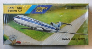 PLAYFIX 1/100 670 PAN AM BOEING 727