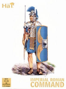 HAT INDUSTRIES 1/72 8075 IMPERIAL ROMAN COMMAND