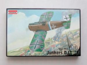 RODEN 1/72 036 JUNKERS D.I SHORT FUSELAGE