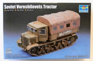 TRUMPETER 1/72 07110 SOVIET VOROSHILOVETS TRACTOR