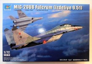 TRUMPETER 1/72 01677 MiG-29UB FULCRUM  LZDELIYE 9.51