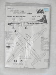 WELSH MODELS 1/144 SL15 CONVAIR 440 METROPOLITAN