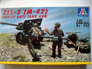 ITALERI 1/35 302 ZIS-3  M-42  SOVIET ANTI TANK GUN