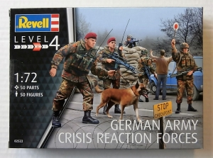 REVELL 1/72 02522 GERMAN CRISIS REACTION FORCE