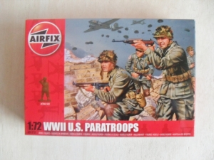 AIRFIX 1/72 01751 WWII U.S. PARATROOPS