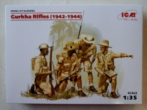 ICM 1/35 35563 GURKHA RIFLES  1942-1944