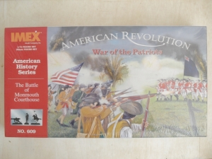 IMEX 1/72 609 PATRIOTS WAR BATTLE OF MONMOUTH COURTHOUSE