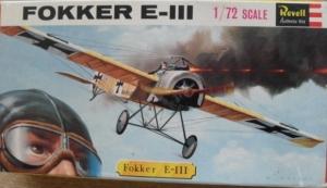 REVELL 1/72 H645SFB FOKKER E III