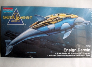 MONOGRAM 1/12 SEAQUEST DSV ENSIGN DARWIN