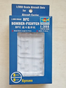 TRUMPETER 1/350 06246 BFC BOMBER FIGHTER