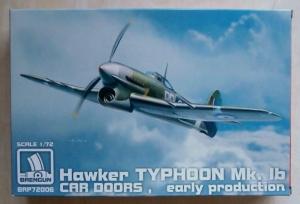 BRENGUN 1/72 72006 TYPHOON Mk.IB CAR DOORS EARLY