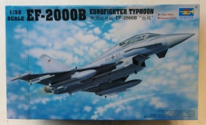 TRUMPETER 1/32 02279 EF-2000B EUROFIGHTER TYPHOON  UK SALE ONLY