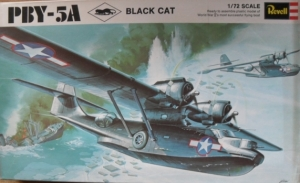 REVELL 1/72 H211 PBY-5A BLACK CAT