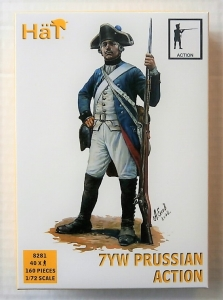 HAT INDUSTRIES 1/72 8281 PRUSSIAN INFANTRY IN ACTION