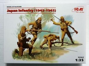 ICM 1/35 35568 JAPANESE INFANTRY  1942-1945