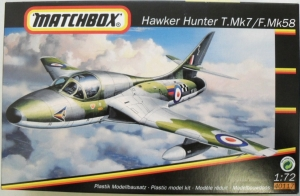MATCHBOX 1/72 40117 HAWKER HUNTER T Mk.7/ F Mk.58
