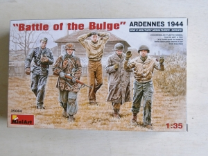MINIART 1/35 35084 BATTLE OF THE BULGE ARDENNES 1944