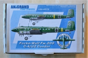 ANIGRAND 1/144 4072 FOCKE-WULF Fw 200C-4/U2 CONDOR