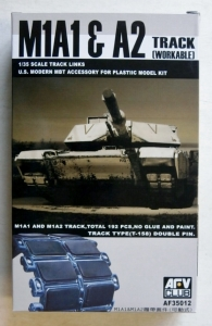 AFV CLUB 1/35 35012 M1A1   A2 TRACK  WORKABLE