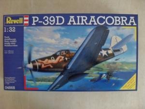 REVELL 1/32 04868 P-39D AIRACOBRA