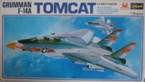 HASEGAWA 1/72 JS-134 GRUMMAN F-14A TOMCAT 1st BOXING