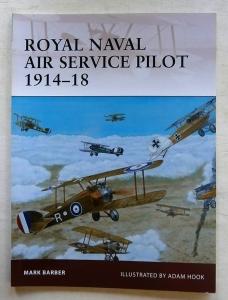 OSPREY WARRIOR  152. ROYAL NAVAL AIR SERVICE PILOT 1914-18