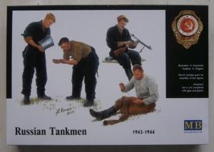 MASTERBOX 1/35 3535 RUSSIAN TANKMEN 1943-1944