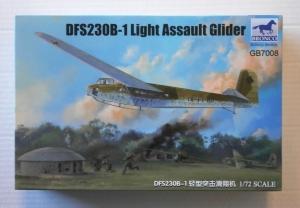 BRONCO 1/72 7008 DFS230B-1 LIGHT ASSAULT GLIDER