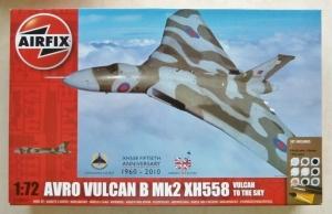 AIRFIX 1/72 50097 AVRO VULCAN B Mk 2 XH558