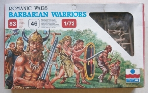 ESCI 1/72 225 BARBARIAN WARRIORS