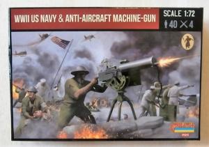 STRELETS 1/72 M112 WWII US NAVY ANTI-AIRCRAFT MACHINE GUN