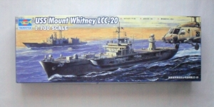 TRUMPETER 1/700 05718 USS MOUNT WHITNEY LCC-20