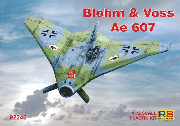RS MODELS 1/72 92246 BLOHM   VOSS Ae 607