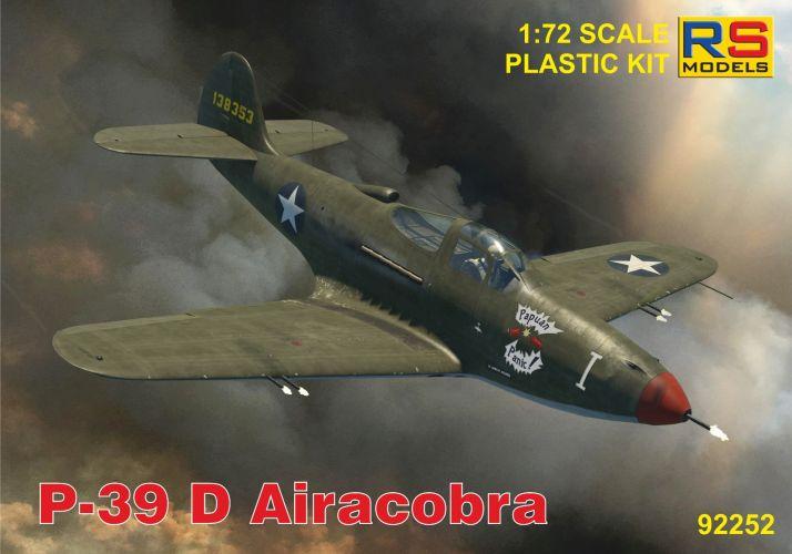 RS MODELS 1/72 92252 P-39 D AIRACOBRA