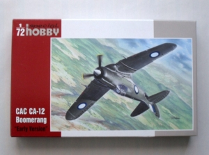 SPECIAL HOBBY 1/72 72044 CAC CA-12 BOOMERANG EARLY VERSION