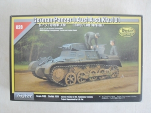 TRISTAR 1/35 35028 PANZER I Ausf.A EARLY/LATE