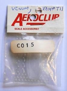 AEROCLUB 1/72 C015 VAMPIRE T11 CANOPY