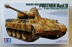 TAMIYA 1/35 35345 GERMAN TANK PANTHER Ausf.D  Sd.Kfz.171