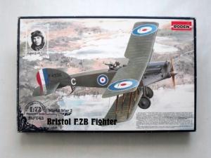 RODEN 1/72 043 BRISTOL F.2B FIGHTER