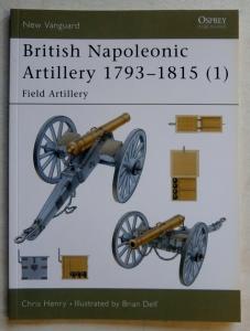 NEW VANGUARDS  060. BRITISH NAPOLEONIC ARTILLERY 1793-1815  1